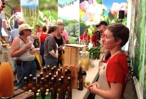 Mustprovning på Skånes Matfestival